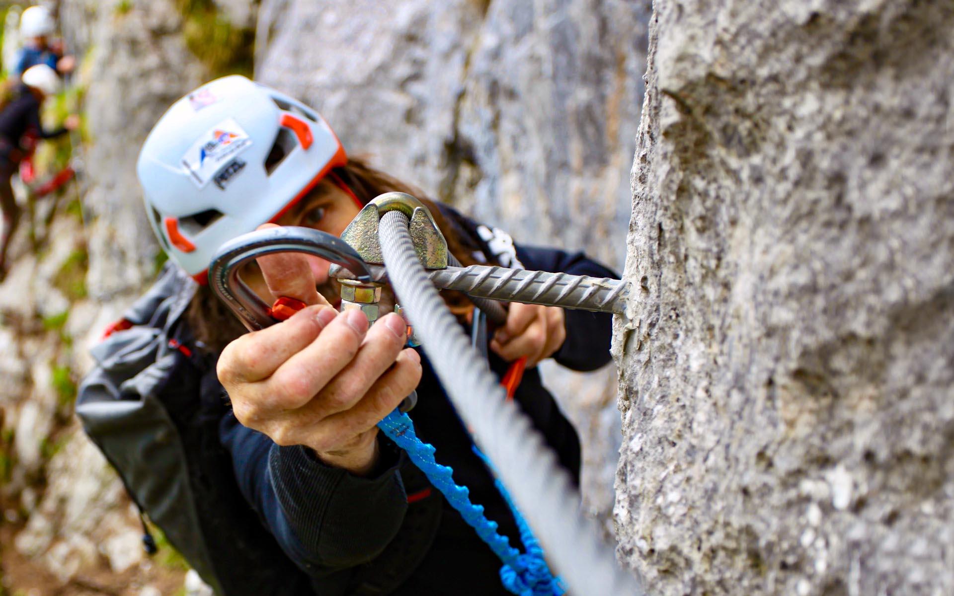 Klettersteigset Verleih Berchtesgaden : Klettersteigschule: klettersteigschule klettersteigkurs